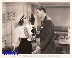 Olivia DeHavilland and Errol Flynn Four's A Crowd Vintage Photo   eBay