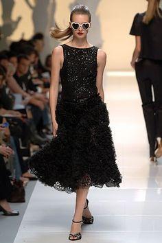 Moschino Spring 2006 Ready-to-Wear Fashion Show - Mona Johannesson
