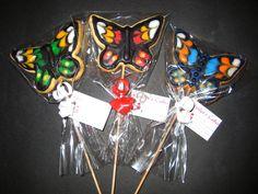 Galletas de mariposas Cake, Desserts, Food, Butterfly Cookies, Butterflies, Tailgate Desserts, Deserts, Food Cakes, Eten