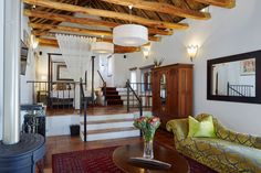 The Tulbagh Boutique Heritage Hotel Furniture, Room, Home, Heritage Hotel, Hotel, Loft Bed, Bed, Honeymoon Suite, Hotels Room
