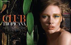 Beegee Margenyte - Vogue Thailand - Club Tropicana by Michael Leis