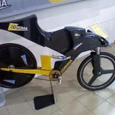 Speed record bike