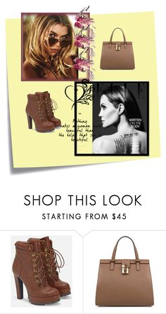 """""""Untitled #162"""" by lalle-mila ❤ liked on Polyvore featuring Post-It, JustFab and Dolce&Gabbana"""