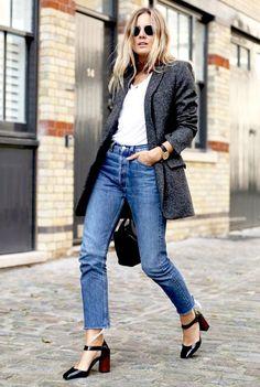 Stylish Combo: Blazer + Jeans