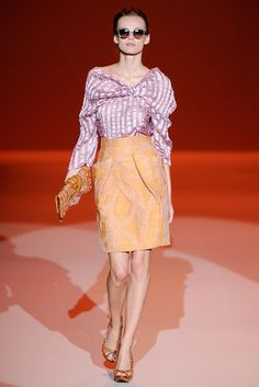 Carolina Herrera Spring 2010 Ready-to-Wear Fashion Show - Natasha Poly