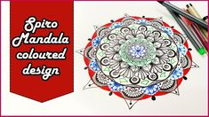 Amazing combination of Spirograph and Mandala coloured design Quick and easy step by step on how to start with spirograph art and mandala design Spirograph t. Spirograph Art, Mandala Artwork, Mandala Coloring, Colorful Drawings, Design, Colourful Designs