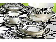 Missoni Home Plates & Missoni Margherita Tableware   TABLEWARE - TABLE SETTING - TRAYS ...