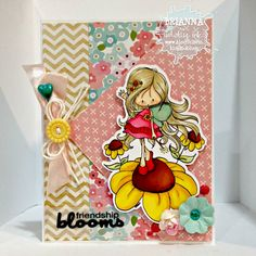 Happy Scrapper: Fairy FUN,Tiddly Inks Stamps!