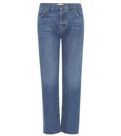 Current/Elliott The Original Straight Cropped Mid-rise Jeans For Spring-Summer 2017