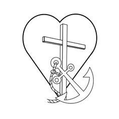 kleurplaten geloof hoop en liefde