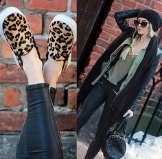 Linda R. - A touch of leopard