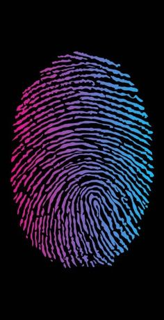 Big Fingerprint Lock Screen Wallpaper