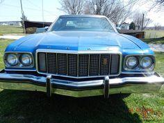 1975 Ford Gran Torino 2-Door HARD TOP  - Mine was lighter blue.