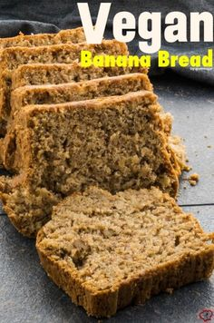 Vegan Banana Bread is super yummy and easy to make. This is one of the best banana breads and nobody can understand it is eggless and dairy free.