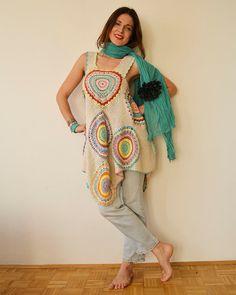 Women's Dress/Tunic ,  Cotton,