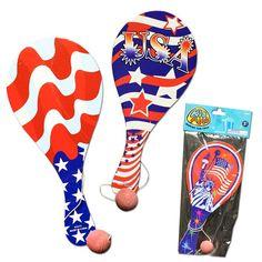 Patriotic Paddle Balls | Windy City Novelties