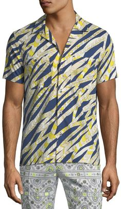 Mr. Turk Felix Striped Sport Shirt c80cb1fb76fc2