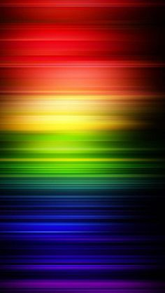 Rainbow Waves Beautiful Gradient iPhone wallpapers