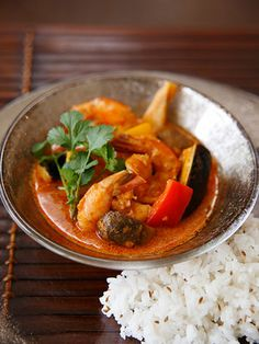 【ELLE a table】海老のタイカレーレシピ|エル・オンライン
