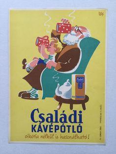 Janos Macskássy, Coffee substitute, 1956