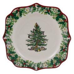 Christmas Tree 70th anniversary plate by Spode. What a beauty!