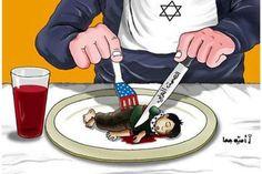 Filistin - Gazze - İsrail Karikatürleri  (Kelimelerin Anlatamadığını Anlatıyor)