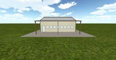 3D #architecture via @themuellerinc http://ift.tt/1UiHnAn #barn #workshop #greenhouse #garage #DIY