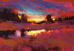 """Daily+Paintworks+-+""""Quiet+Time""""+-+Original+Fine+Art+for+Sale+-+©+Marla+Baggetta"""
