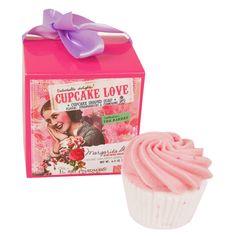 Savon Cupcake d'Amour Fraise et Champagne   Pivoine et Tapioca