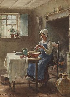 View Preparing the midday meal by William Kay Blacklock on artnet. Browse upcoming and past auction lots by William Kay Blacklock. Human Anatomy Drawing, Gustave Courbet, Victorian Art, Drawing Lessons, Light Painting, Beautiful Paintings, Art History, Art Photography, Fine Art