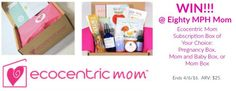 Try Ecocentric Mom Subscription Boxes for Must-Have Mom Products – Review and Giveaway!