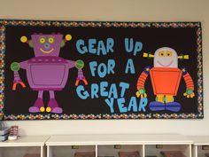 Robot bulletin board