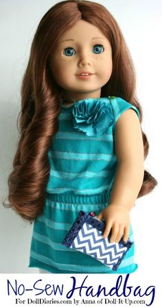 Doll Craft-Make a No-Sew Handbag for Dolls — Doll Diaries
