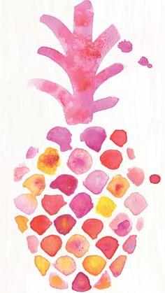iPhone 6 pineapple wallpaper