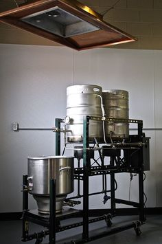 How to make a Home Brewery into a Commercial Nano Brewery - Brush Creek Brewing… Nano Brewery, Home Brewery, Home Brewing Beer, Brewery Design, Brewing Equipment, Brew Pub, Beer Recipes, How To Make Beer, Wine And Beer