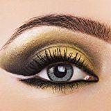 Farbige Kontaktlinsen VIVID GREY, lebendig grau . 3-Monatslinsen, Color Contact lenses 1 Paar (2 Stück)