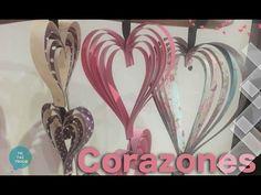 Como hacer corazón de San Valentin de papel   Tic-Tac Truco