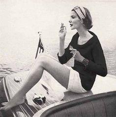 Vintage Easy Knit EPattern 1950s Vogue COWL by GrannyTakesATrip