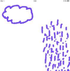 Eerst de wolk en dan zijn boodschap