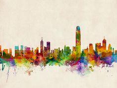 skyline paint - Buscar con Google