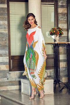 Big Girl Fashion, Modest Fashion, Fashion Outfits, African Fashion Dresses, African Dress, Kaftan Style, Mode Abaya, Oriental Fashion, Linen Dresses