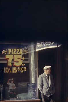 Saul Leiter, Pizza 1952