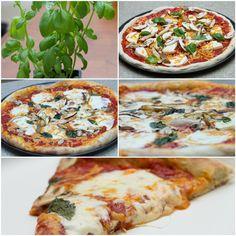 Home made pizza daiya cheese mushrooms tomato sauce fresh basil. #pizza #food #foodporn #yummy #love #dinner #salsa #recipe