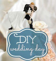 DIY wedding day tips and inspirations  -DIY Bride- decorations, makeup, veils, garters, reception, ceremony decor