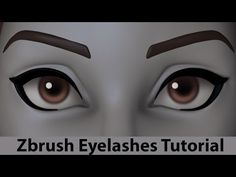 How to sculpt eyelashes in Zbrush – Methods by Danny Mac – zbrushtuts