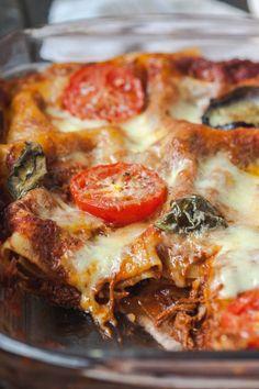 Rustic 3 Cheese Lasagna