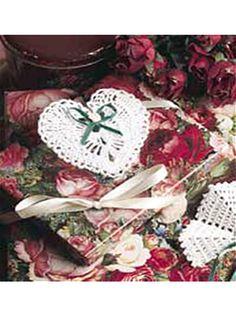 Crocheted Heart ~ free pattern