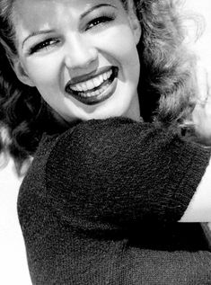 Rita Hayworth ~ Beautiful and with the prettiest smile ever.