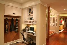 Home office idea from the Not So Big Showhouse | The Breakfast Nook