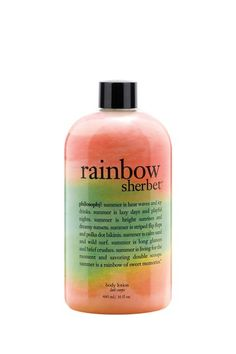 Philosophy Rainbow Sherbet Body lotion $17